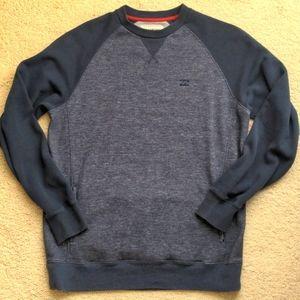 Mens Billabong pullover sweatshirt, blue, sz L